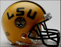 LSU Louisiana State Tigers Mini Replica Helmet