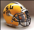 LSU Tigers Full Size Authentic Schutt Helmet