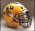 LSU Tigers Full Size Replica Schutt Helmet