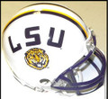 LSU Tigers NCAA Mini Football Helmet White