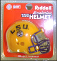 LSU Tigers NCAA Pocket Pro Single Football Helmet
