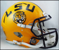 LSU Tigers Riddell NCAA Mini Speed Football Helmet