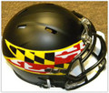 Maryland Terrapins Alternate Black Flag NCAA Mini Speed Revolution Helmet