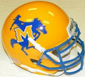 McNeese State Cowboys Mini Authentic Schutt Helmet