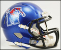 Memphis Tigers Riddell NCAA Mini Speed Football Helmets