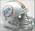 Miami Dolphins 1972 Throwback Full Size Authentic Helmet