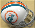 Miami Dolphins 1972 Full Size Replica Throwback Helmet