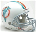 Miami Dolphins 1973-79 Throwback Full Size Authentic Helmet