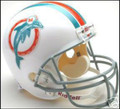 Miami Dolphins 1973-79 Throwback Full Size Replica Helmet