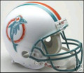 Miami Dolphins 1980-96 Throwback Full Size Authentic Helmet