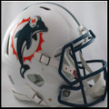 Miami Dolphins 1997-2012 Authentic Revolution Speed Football Helmet