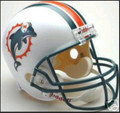 Miami Dolphins 1997-2012 Full Size Replica Throwback Helmet