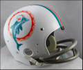 Miami Dolphins Full Size TK Suspension Throwback Helmet 1972