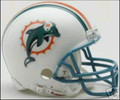 Miami Dolphins 1997-2012 Throwback Mini Replica Helmet