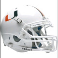 Miami Hurricanes Authentic Schutt XP Football Helmet