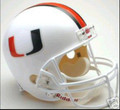 Miami Hurricanes Full Size Replica Helmet