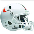 Miami Hurricanes Full XP Replica Football Helmet Schutt