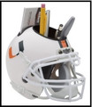 Miami Hurricanes Helmet Desk Caddy