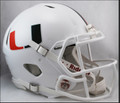 Miami Hurricanes Riddell NCAA Mini Speed Football Helmet