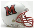 Miami Of Ohio Redhawks Mini Replica Helmet