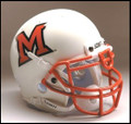 Miami of Ohio Redhawks Full Size Replica Schutt Helmet