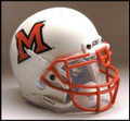 Miami of Ohio Redhawks Mini Authentic Schutt Helmet