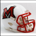 Miami-Ohio Redhawks NCAA Mini Speed Football Helmet