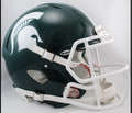 Michigan St Spartans Riddell Mini Speed Football Helmet