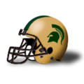Michigan State Spartans 2011 Full Size Replica Football Helmet