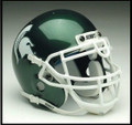 Michigan State Spartans Mini Authentic Schutt Helmet