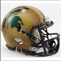 Michigan State Spartans NCAA Mini Speed Football Helmet