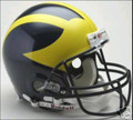 Michigan Wolverines Full Size Authentic Helmet