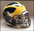 Michigan Wolverines Full Size Replica Schutt Helmet