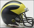 Michigan Wolverines Mini Replica Helmet
