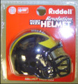 Michigan Wolverines NCAA Pocket Pro Single Football Helmet