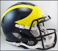 Michigan Wolverines Mini Speed Helmet