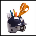 Milwaukee Brewers Mini Helmet Desk Caddy
