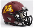 Minnesota Golden Gopher Riddell NCAA Mini Speed Football Helmet