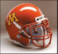 Minnesota Golden Gophers Full Size Replica Schutt Helmet