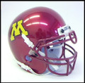 Minnesota Golden Gophers Mini Authentic Schutt Helmet