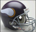 Minnesota Vikings 1961-79 Throwback Full Size Authentic Helmet