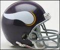 Minnesota Vikings 1961-1979 Throwback Mini Replica Helmet