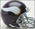 Minnesota Vikings 1961-1979 Z2B Throwback Mini Replica Helmet