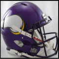 Minnesota Vikings 2006-2012 Authentic Revolution Speed Football Helmets