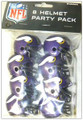 Minnesota Vikings Gumball Helmet Party Pack