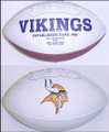 Minnesota Vikings Full Size Logo Football