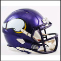 Minnesota Vikings 2006-2012 Throwback Mini Speed Football Helmet