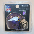 Minnesota Vikings NFL Pocket Pro Single Football Helmet