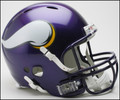 Minnesota Vikings Revolution Full Size Authentic Helmet