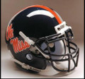 Mississipp Rebels Mini Authentic Schutt Helmet